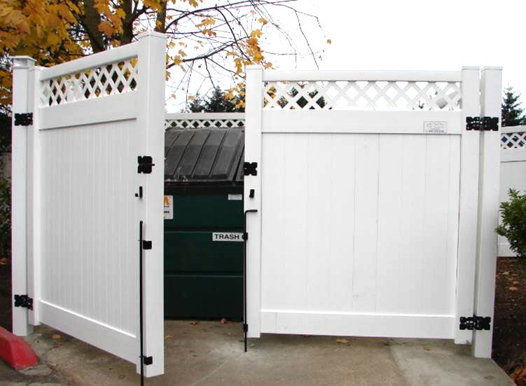 Dumpster Enclosure 1