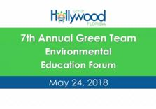 2018 Green Team Environmental Lecture Series