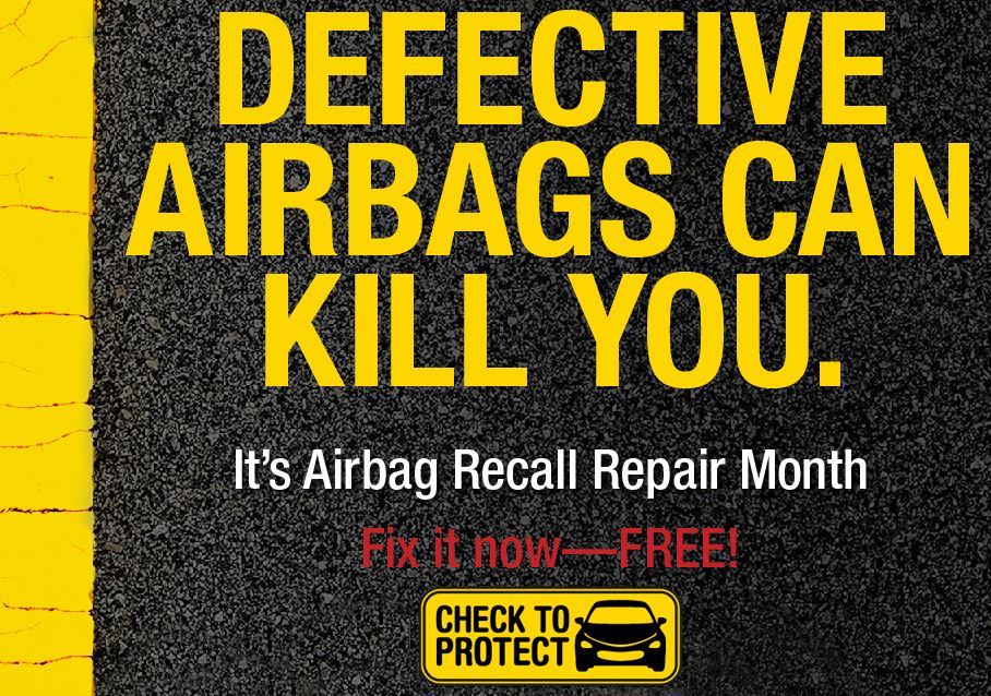 Check your vehicle&#39s airbag status for free