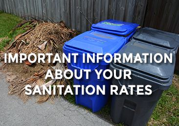 Sanitation Rate Increase