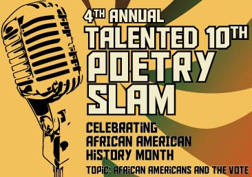 Poetry Slam Spoken Word Competition